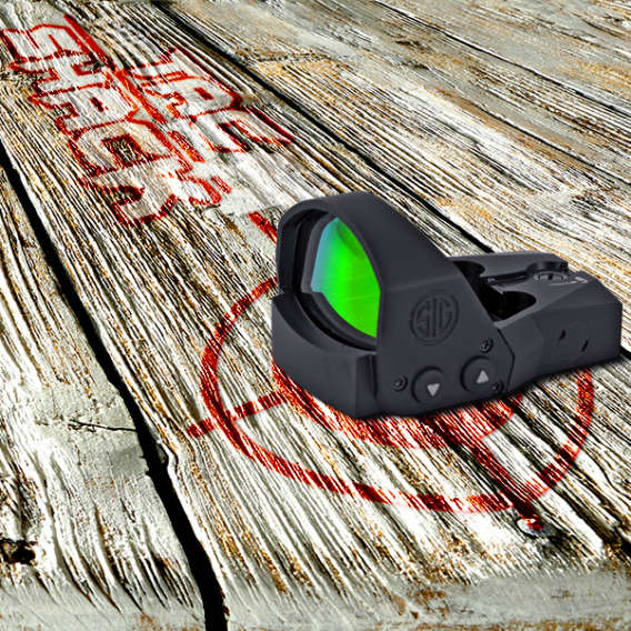 gun optic on tac shack table for webinars